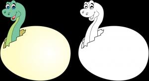 Dibujo Dragon infantil