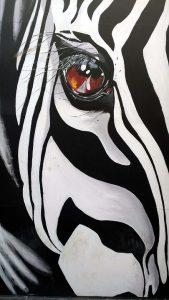 Dibujo de Cebras para niños