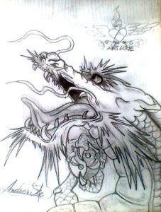 Dragon dibujo