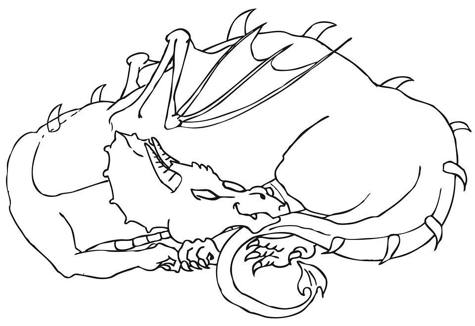 Lindos Dragones Para Imprimir