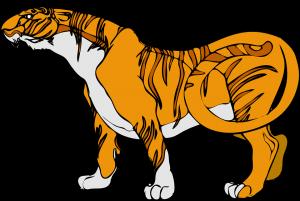 Imagenes de Tigres para colorear