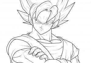 ᐈ Dibujos De Dragon Ballguiafotos De Goku Para Pintar