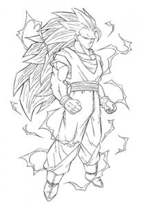 dibujos de dragon ball super