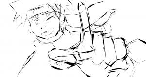 dibujos de naruto y sasuke