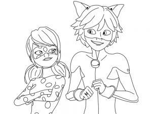 imagenes de ladybug y cat noir