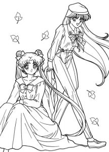 imagenes de sailor moon y darien