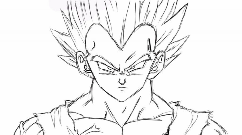 Colorear Dragones Dragon Ball Z Para Dibujos Para Colorear: Fotos De Goku Para Pintar