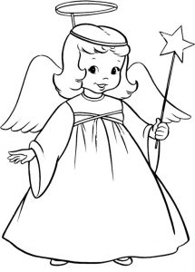 angel dibujo