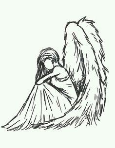 angeles dibujos