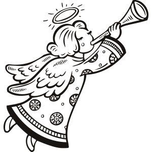 angeles para dibujar