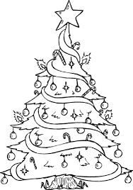 arbol de navidad para calcar