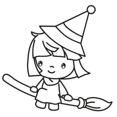 ᐈ Dibujos De Brujasguiahermosas Brujas Animadas Para
