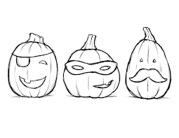 calabaza halloween para colorear