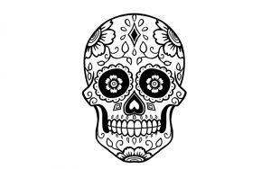 calaveras mexicanas dibujos