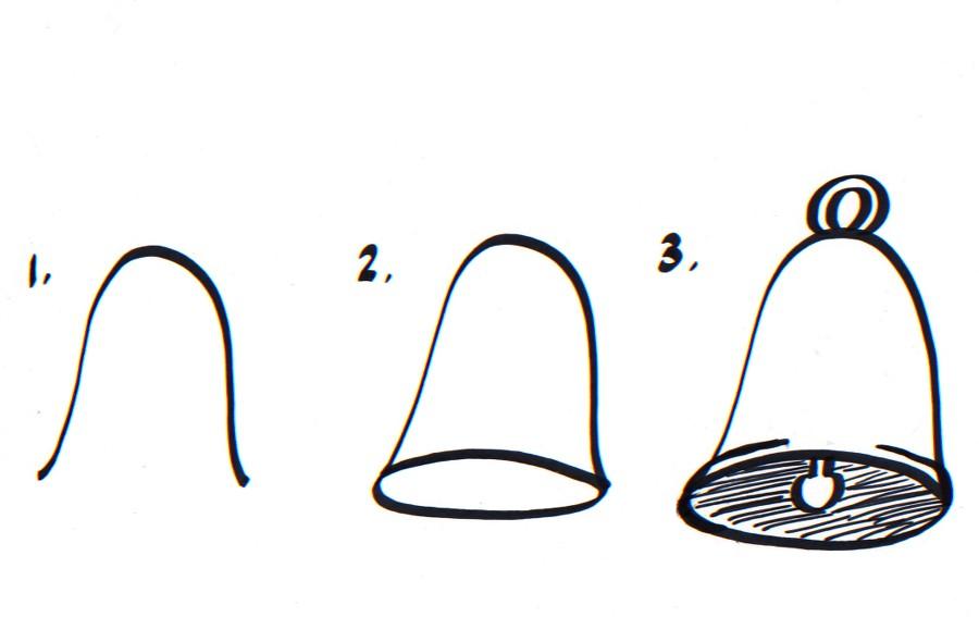 ᐈ Dibujos De Campanas Como Dibujar Una Campana Dibujos Faciles