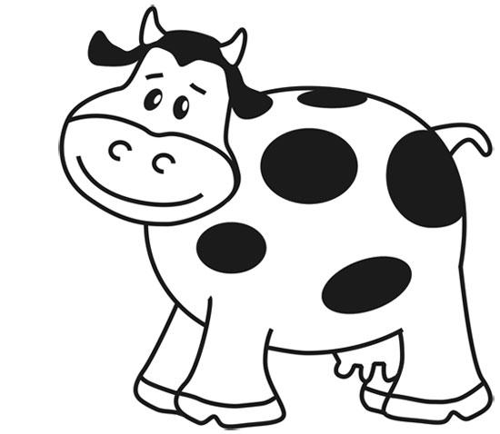 Dibujos De Vacas Tutorial Pinta Una Vaca Fácil