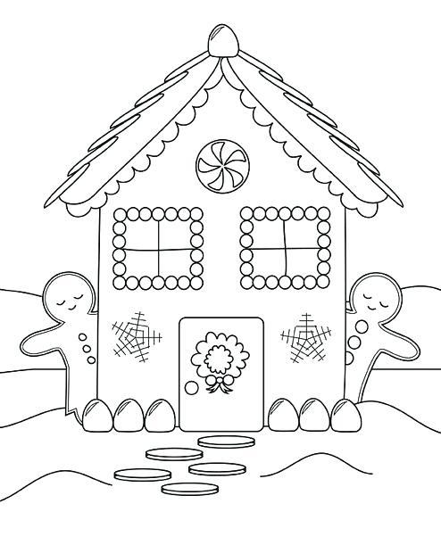 casa de galleta de jengibre