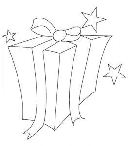 como dibujar regalos