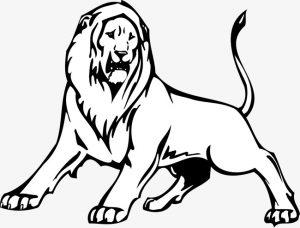 como dibujar un leon facil para niños