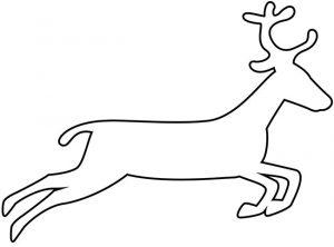 como dibujar un reno
