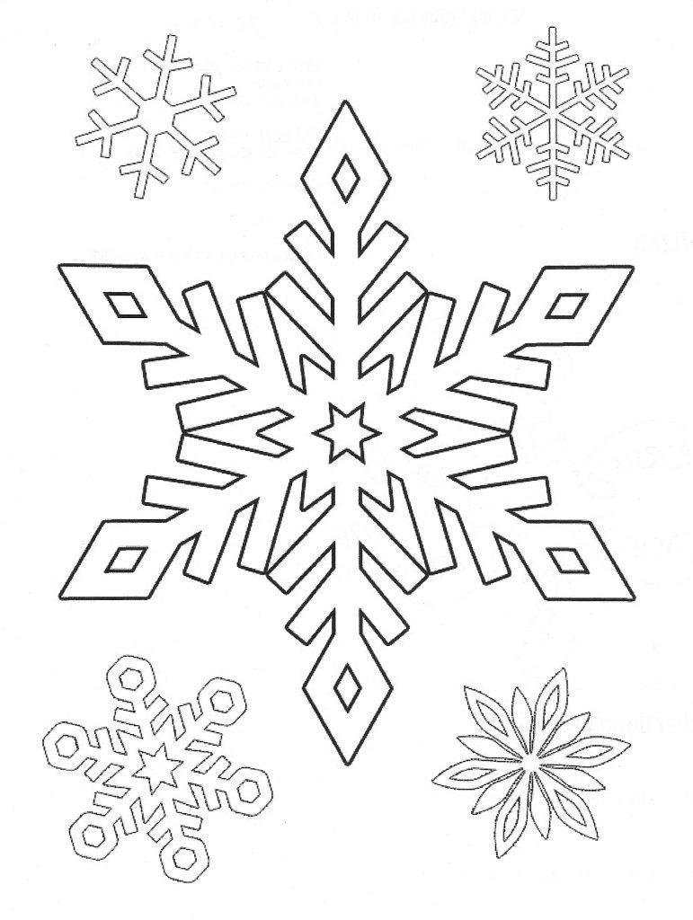 Dibujos de copos de nieve tutorial como hacer copos de - Papel para dibujar ...
