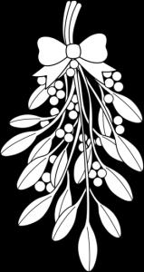 corona de muerdago
