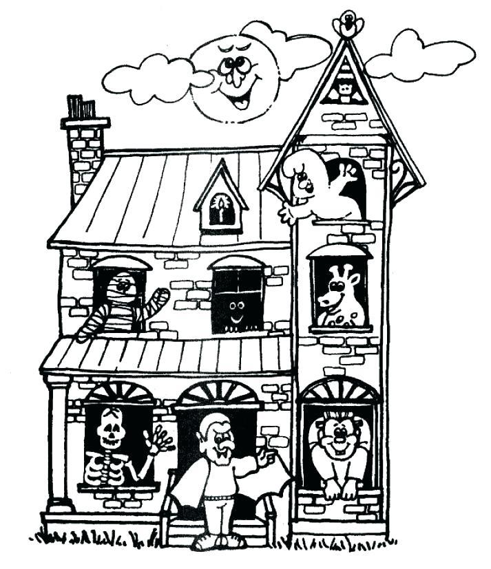 Dibujos De Casas Embrujadas Tutorial Tétricas Pero Hermosas