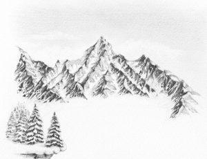 dibujo estrella de nieve