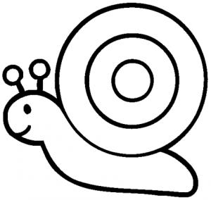 dibujos de caracoles pintados