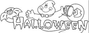 dibujos de halloween infantiles