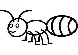 dibujos de hormigas infantiles