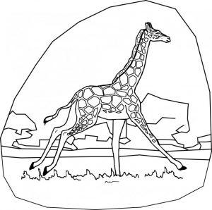dibujos de jirafas infantiles