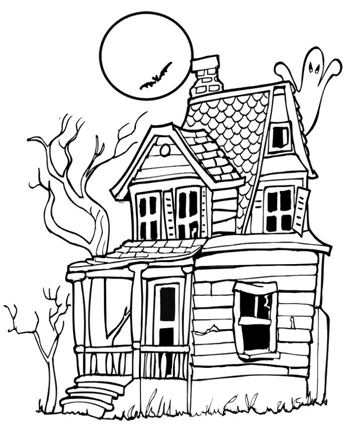 Dibujos De Casas Embrujadas Tetricas Pero Hermosas Dibujos