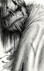 dibujos de miedo a lapiz