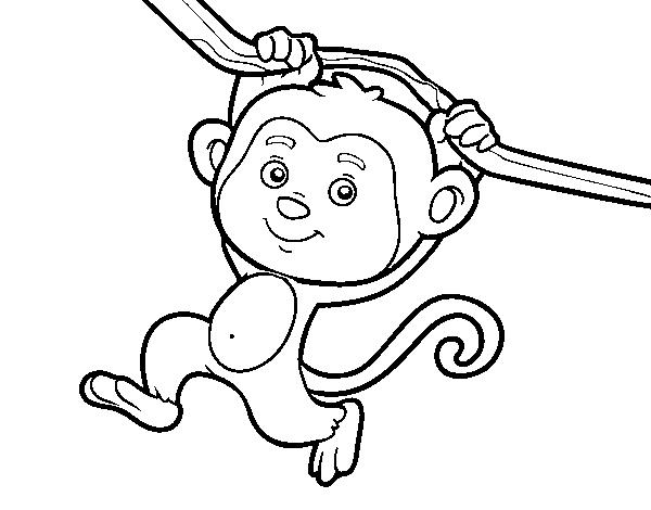 Dibujos De Monos Tutorial Pintar Un Mono Animado
