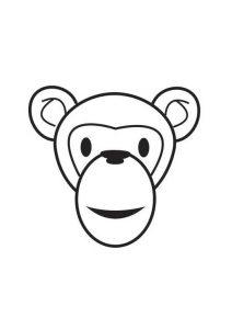 dibujos de monos a lapiz