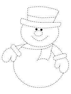 dibujos de monos de nieve