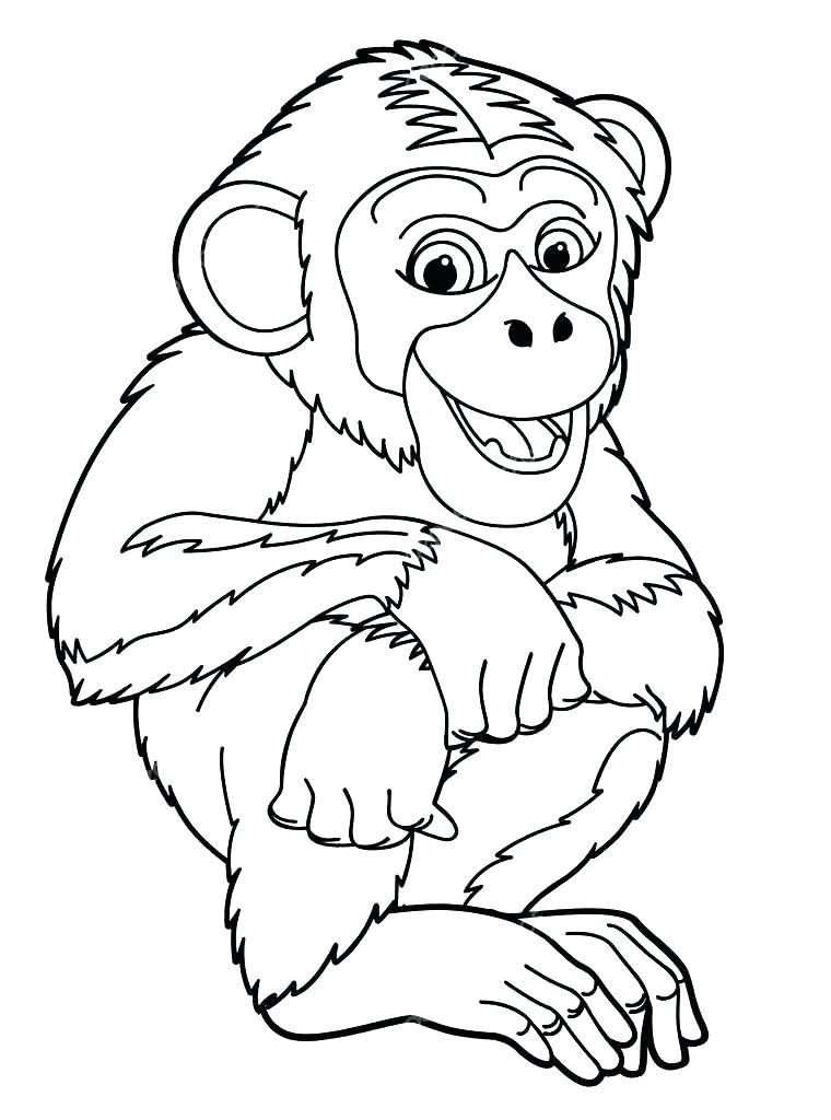 ᐈ Dibujos De Monosguiapintar Un Mono Animado