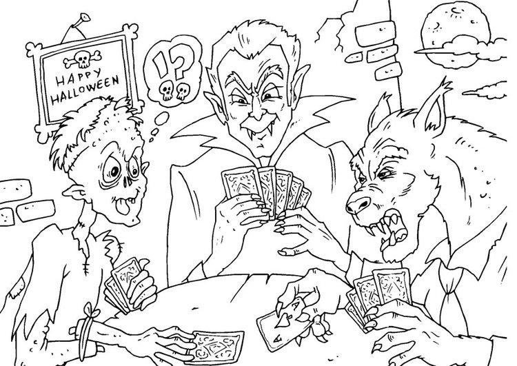 dibujos de monstruos feos