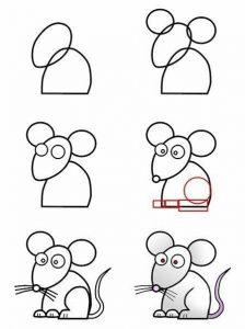 dibujos de ratas
