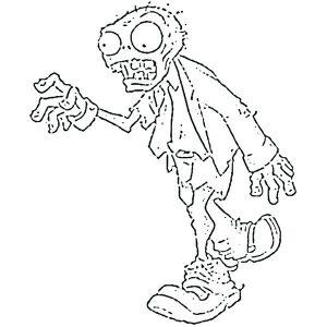 dibujos de zombies a lapiz