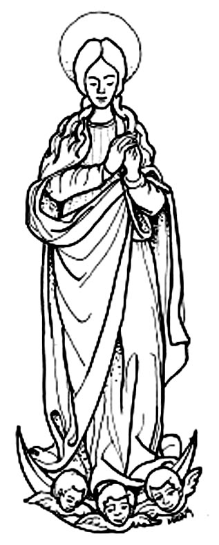 Dibujos De La Virgen De Guadalupe Tutorial Dibújala A Lápiz