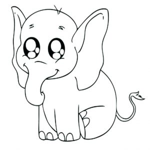 elefante dibujo animado