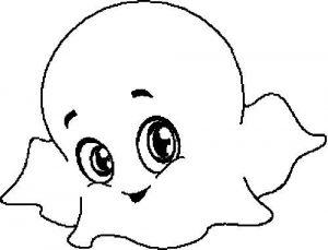 fantasma para colorear
