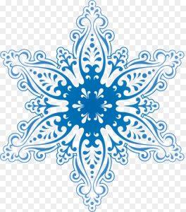 figuras de copos de nieve para imprimir
