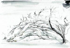 figuras de nieve navideñas