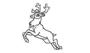 figuras de renos navideños