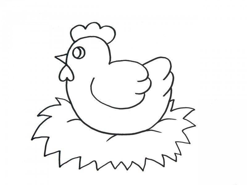 ᐈ Dibujos De Gallinasguiacomo Dibujar Una Gallina Fácil