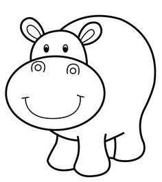 hipopotamo animado