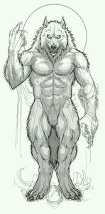 hombre lobo 3d
